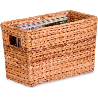 Magazine Banana Leaf Tote Basket - Pkg Qty 2
