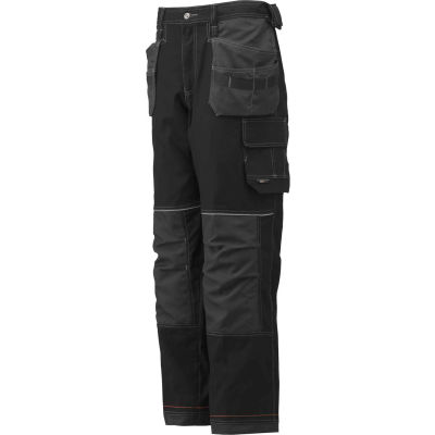 Helly Hansen Chelsea Construction Pant, Black/Charcoal, 34/34, 76488-999-34/34