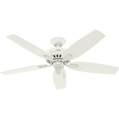 """Hunter Fan 52"""" Newsome Ceiling Fan 53322 - Fresh White"""