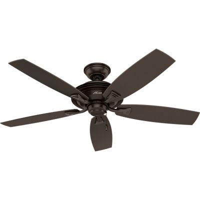 """Hunter Fan 52"""" Rainsford Ceiling Fan 53347 - Premier Bronze"""