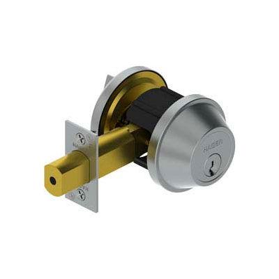 """3215 Grade 2 Deadlock - Cylinder X Thumbturn 2-3/4"""" 2-3/4"""" Us32d Scc Kd"""