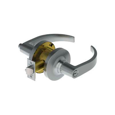 "3453 Grade 1 Cylindrical Lock - Entry 2-3/4"" Us26d Aug Nc Asa Ic"