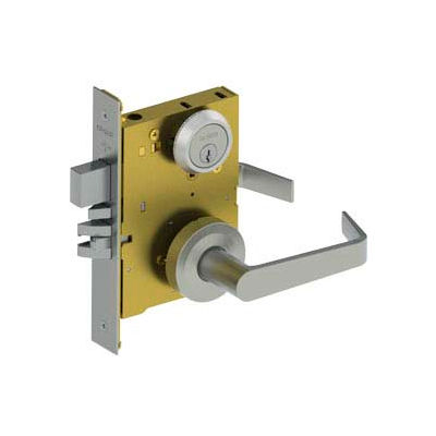 3810 Grade 1 Mortise Lock - Passage Sect Us26d Wlm
