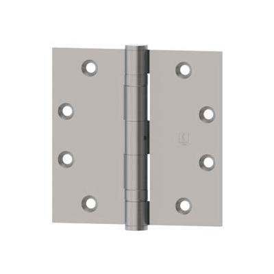 """Hager Full Mortise, Five Knuckle, Ball Bearing Hinge BB1279 4.5"""" x 4.5"""" US26D"""