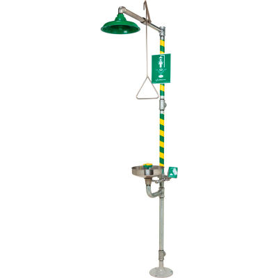 Haws® AXION® MSR, 8300-8309, Emergency Combination Eye/Face Wash Station/Drench Shower