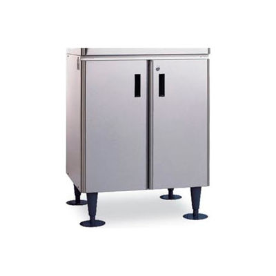 Cabinet Stand For Icemaker/Dispensers, SS w/ Locking Doors - For Model #DCM-500