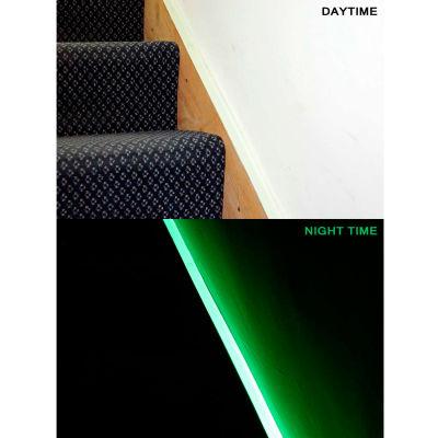 "Heskins Photoluminescent Egress Tape, Glow In The Dark, 1"" x 30'"