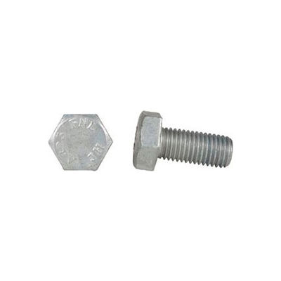 "1-8 x 4-3/4"" Structural Bolt - ASTM F3125 - A325 - Steel - Hot Dip Galvanized - USA - Pkg of 30"