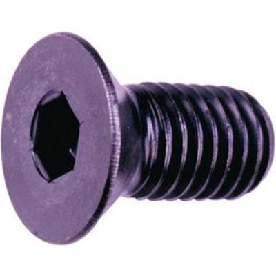 """10-32 x 1/2"""" Flat Socket Cap Screw - Steel - Black Oxide - UNF - Pkg of 100 - USA - Holo-Krome 61004"""