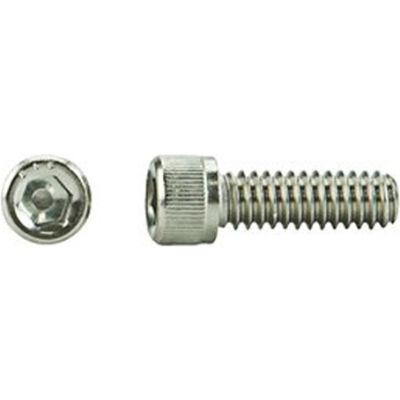"1/2-13 x 1-1/4"" Hex Socket Cap Screw - 18-8 Stainless Steel - UNC - ASTM F837 - USA - Pkg of 50"