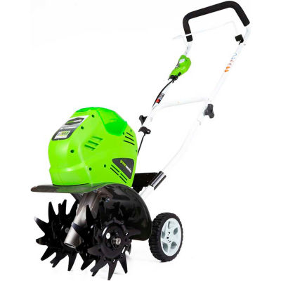 """GreenWorks® 27062G-MAX 40V 10"""" Cordless Cultivator W/4.0Ah Battery & Charger"""