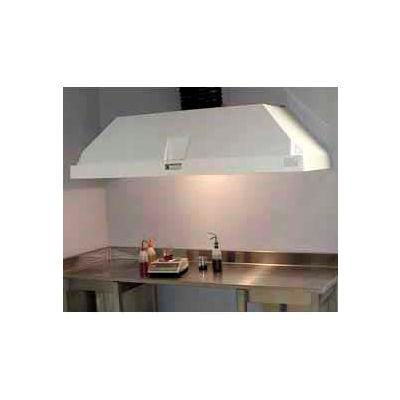 "HEMCO® Wall Canopy Hood, 96""W x 30""D x 18""H"