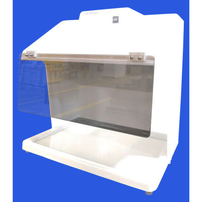 HEMCO® Clear Hinged Safety Shield, Fits HEMCO Vented Table Top Hood Workstation
