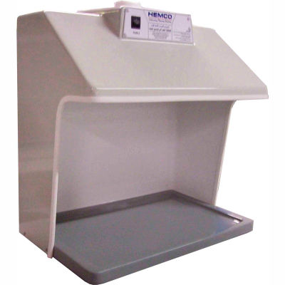 HEMCO® Vented Table Top Hood Workstation with Vapor Proof Light, Blower and Ducting