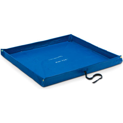 "DQE® Flexible Containment Pool, 5'L x 10'W x 4""H, Blue"