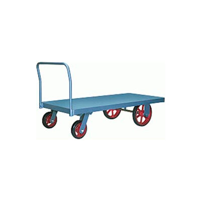 Hamilton® Steel Platform Truck 48 x 84 - Plastex Wheels 4000 Lb. Cap.