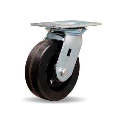 Hamilton® Vanguard Cold Forged Swivel 6 x 2 Plastex Roller 1200 Lb. Caster