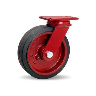Hamilton® ForgeMaster™ Swivel 10 x 3 Mold-On Rubber Roller 1000 Lb. Caster