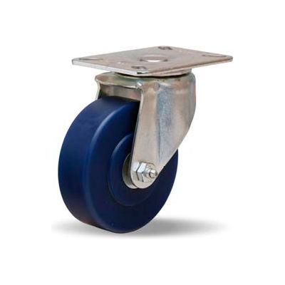 Hamilton® Hi-Lo Light Duty Swivel 4 x 1-1/4 Unilast® Roller 400 Lb. Caster