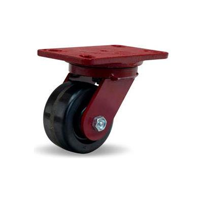 Hamilton® Heavy Service Swivel 4 x 2 Plastex Roller 800 Lb. Caster