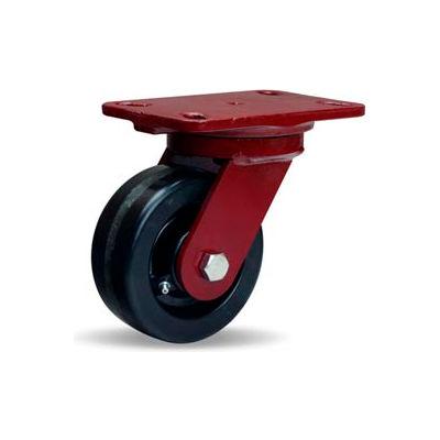 Hamilton® Heavy Service Swivel 5 x 2 Plastex Roller 1000 Lb. Caster