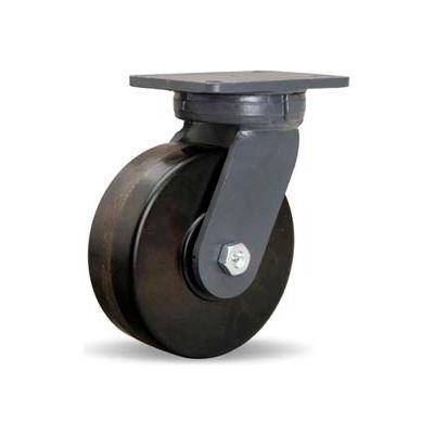 Hamilton® Super Endurance™ Kingpinless Swivel 8 x 3 Plastex Roller 3000 Lb. Caster