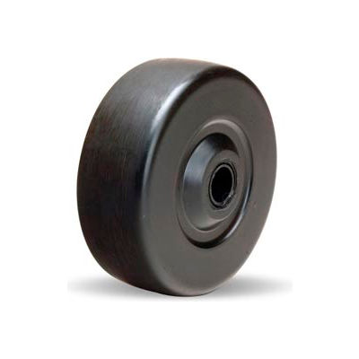 "Hamilton® Ebonite Wheel 3-1/2 x 1-5/16 - 1/2"" Oilless Bearing"