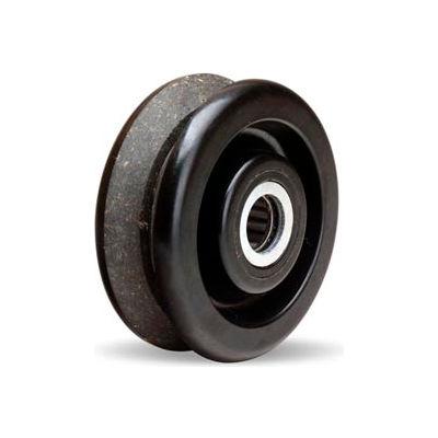 "Hamilton® Plastex V-Groove Wheel 4 x 1-1/2 - 3/4"" Roller Bearing"