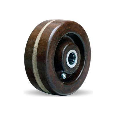 "Hamilton® Hi-Heat Plastex Wheel 5 x 2 - 3/4"" Roller Bearing"