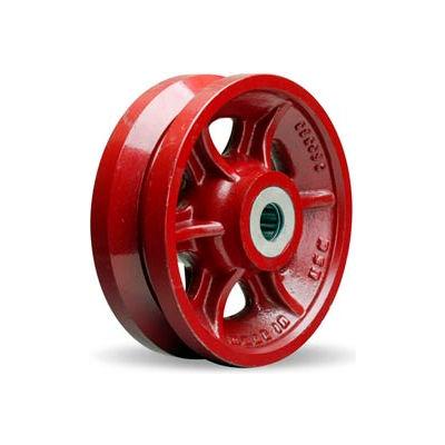 """Hamilton® V-Groove Wheel 8 x 2-3/4 - 1"""" Roller Bearing"""