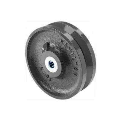 """Hamilton® V-Groove Wheel 8 x 3 - 1-1/4"""" Roller Bearing"""