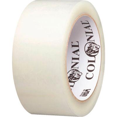 "Shurtape® Colonial® HM 018 Economy Carton Sealing Tape 2"" x 110 Yds. 1.8 Mil Clear - Pkg Qty 36"
