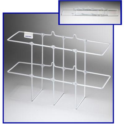 """Horizon Mfg. White Collapsible Binder Rack, 3005, 13-1/4""""L X 4-1/4""""W X 8-1/4""""H"""