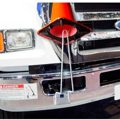 "Horizon Mfg. Traffic Cone Holder, 5911, Holds 18"" & 28"" Traffic Cones"