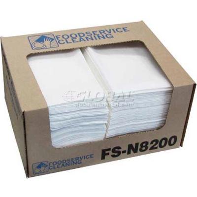 """TaskBrand® Deluxe Food Service Towel, White, 13"""" x 21"""", 150/Case, N-F310QCWA"""
