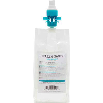Health Gards® Toilet Seat Cleaner - Pleasant Scent, 500 ml , 12/Case - SC500TSC