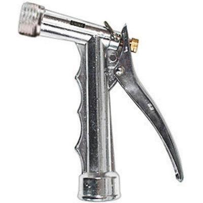 AquaPlumb® 104800 Chrome Pistol Hose Nozzle W/Threaded End