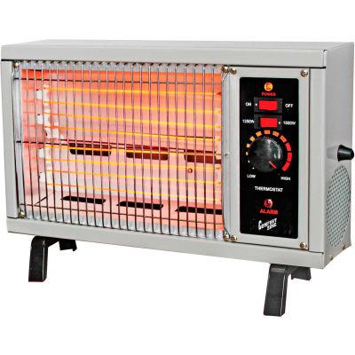 Comfort Zone® Electric Radiant Heater CZ550 1250 / 1500W 5120 BTU - Pkg Qty 4