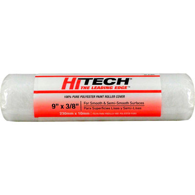 "Hi-Tech® 9"" Polyester Roller Cover 3/8"" Nap - RC01895 - Pkg Qty 18"