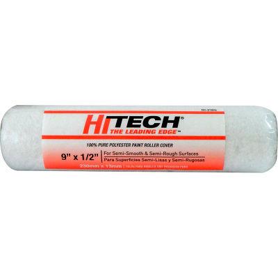 "Hi-Tech® 9"" Polyester Roller Cover 1/2"" Nap - RC01896 - Pkg Qty 24"