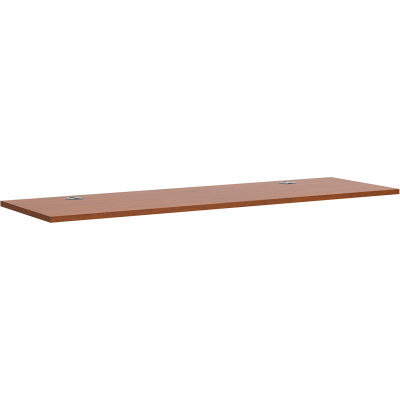 "HON® Worksurface - 60""W x 24""D - Mahogany - Foundation Series"