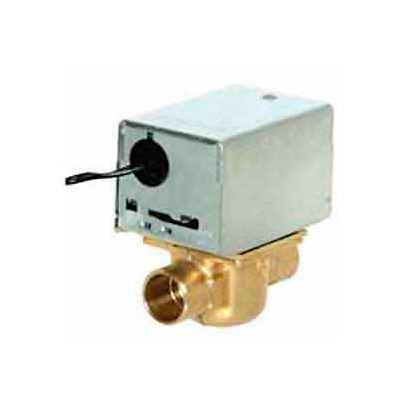 "120V 1/2"" Sweat Connection Line Voltage Motorized Zone Valves W/ 1 Cv Capacity"