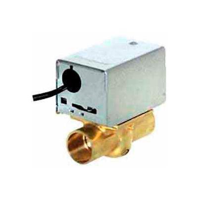 "120V 1"" Sweat Connection Line Voltage Motorized Zone Valves W/ 8 Cv Capacity"
