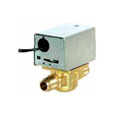"120V 1/2"" Flare Connection Line Voltage Motorized Zone Valves W/ 35 Cv Capacity"