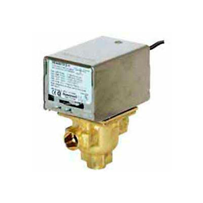"120V 1/2"" Sweat Connection Line Voltage Motorized Zone Valves W/ 4 Cv Capacity"