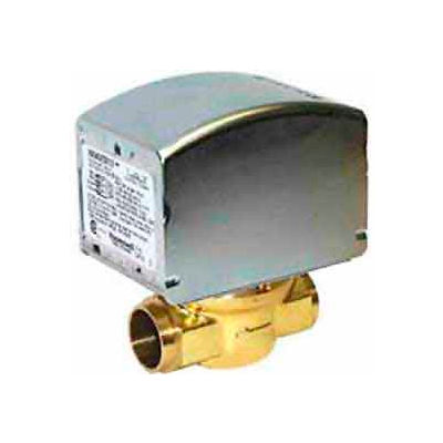 "24V 3/4"" Sweat Connection Low Voltage Motorized Zone Valves 20 Psi Close"