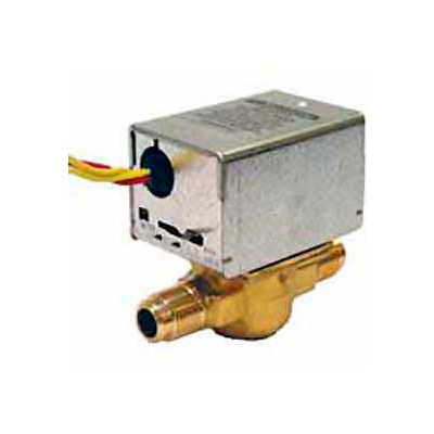 "3/4"" Sweat Connection Low Voltage Motorized Zone Valves W/ 8 Cv Capacity"