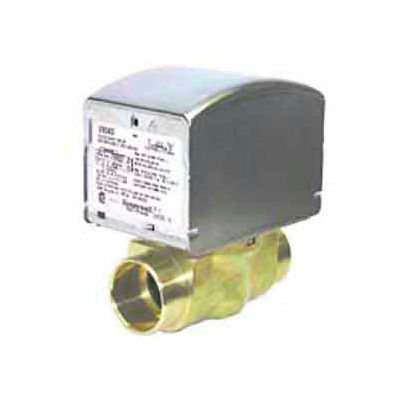 """24V 1"""" Sweat Connection Low Voltage Motorized Zone Valves W/ 8 Cv Capacity"""