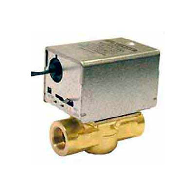 "24V 1/2"" Npt Connection Low Voltage Motorized Zone Valves W/ 35 Cv Capacity"