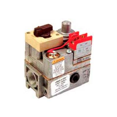 """Honeywell 3/4"""" Nptx3/4"""" Npt Powerpile Millivolt Gas Valve VS820A1336, W/ 100"""" Wc Adjustable"""